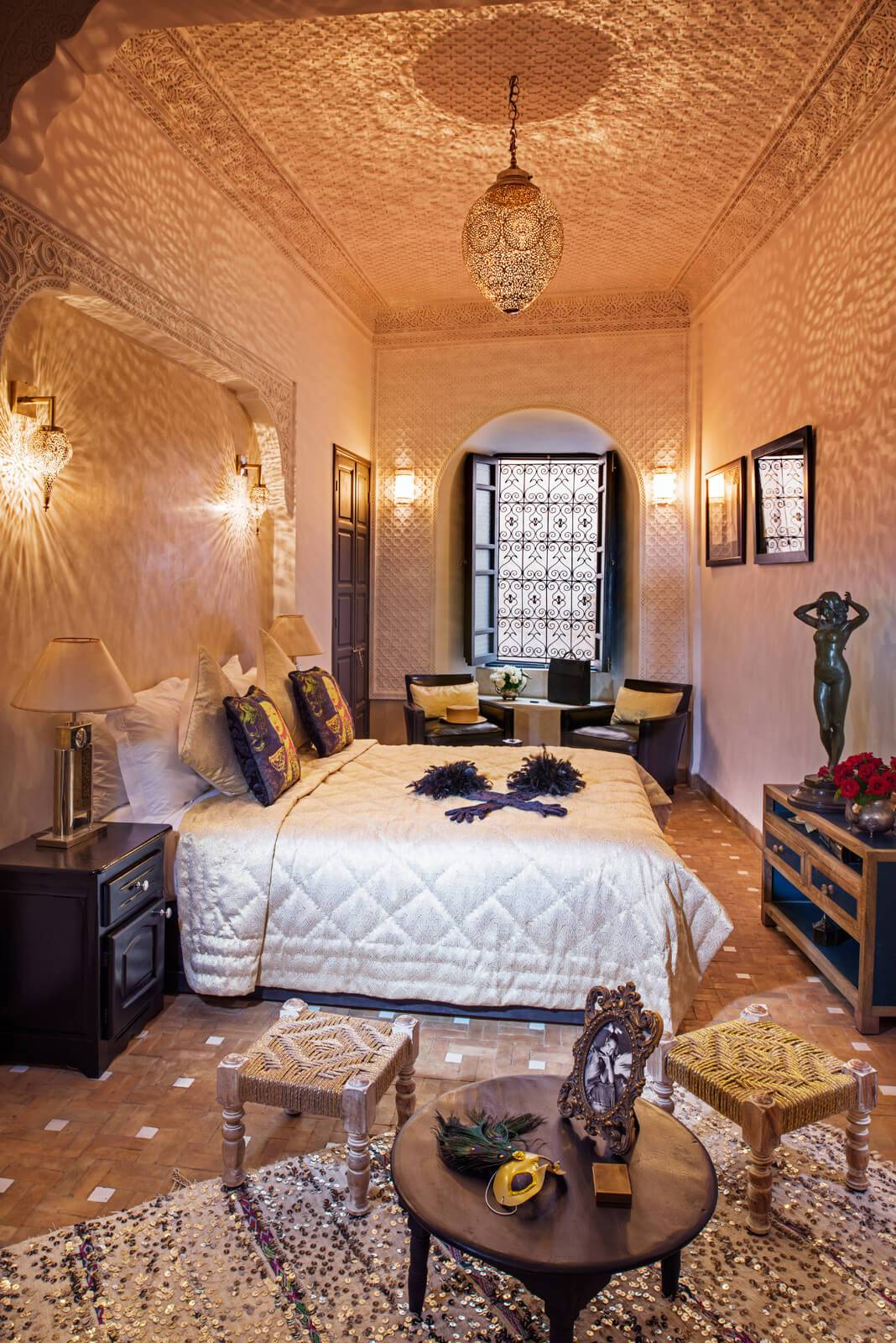luxury room morocco