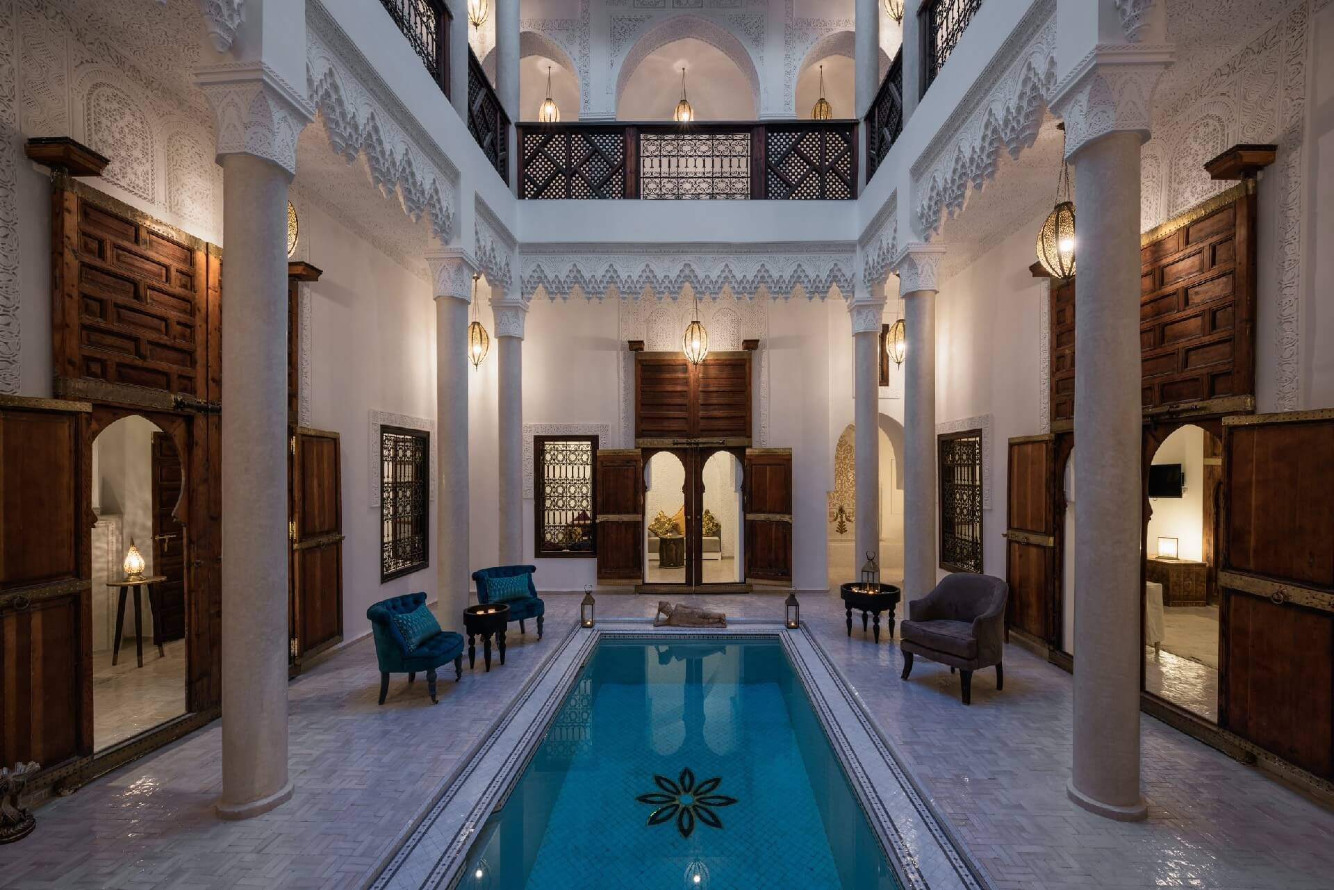 Marrakech riads luxury accommodation in marrakesh morocco - Riad medina marrakech avec piscine ...